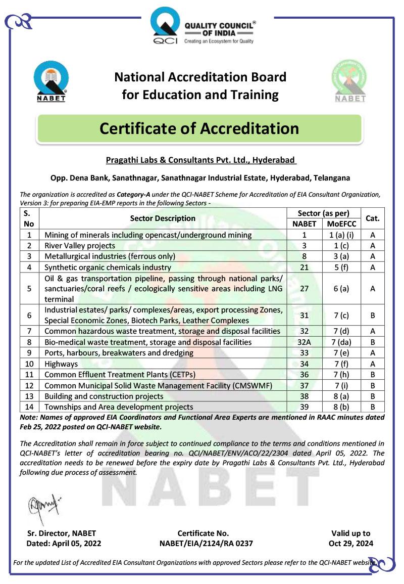 Pragathi Labs And Consultants Pvt Ltd